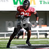 Beck Diefenbach  -  bdiefenbach@daily-chronicle.com<br /> <br /> Northern Illinois University's Alex Kube during practice at Huskie Stadium in DeKalb, Ill., on Wednesday Aug. 25, 2010.
