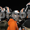 Beck Diefenbach – bdiefenbach@daily-chronicle.com<br /> <br /> DeKalb head coach Marty Sanders gives some words of advice to his players during the second quarter of the Castle Challenge football game between DeKalb and Sycamore High Schools at Huskie Stadium on the campus of Northern Illinois University in DeKalb, Ill., on Friday Sept. 10 2010.