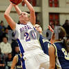 Rob Winner – rwinner@daily-chronicle.com<br /> Hinckley-Big Rock's Jenna Thorp takes a shot during the second quarter of the Class 1A sectional game against Ottawa Marquette in Mooseheart, Ill. on Tuesday February 16, 2010.