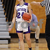 Beck Diefenbach  -  bdiefenbach@daily-chronicle.com<br /> <br /> Hampshire's Cassie Dumoulin (24) reacts being called for a foul during the third quarter of the IHSA Class 3A Regional championship game against DeKalb at Rochelle Township High School in Rochelle, Ill., on Thursday Feb. 18, 2010.