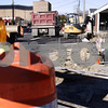Kyle Bursaw - kbursaw@daily-chronicle.com<br /> <br /> The East Locust Street in DeKalb, Ill. under construction, pictured on Nov. 4, 2010.