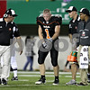 Beck Diefenbach – bdiefenbach@daily-chronicle.com<br /> <br /> DeKalb's Troy Talaga (1) walks off the field after being injured during the fourth quarter of the Castle Challenge game between DeKalb and Sycamore High Schools at Huskie Stadium on the campus of Northern Illinois University in DeKalb, Ill., on Friday Sept. 10 2010.