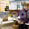 Rob Winner – rwinner@daily-chronicle.com<br /> <br /> Northern Illinois University professor Winifred Creamer gathers literature from her office for her class at NIU in DeKalb, Ill. on Thursday April 8, 2010.