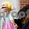"Rob Winner – rwinner@daily-chronicle.com<br /> <br /> Alicia McConnell, of Sycamore High School, controls a puppet during an educational program called ""The Kids on the Block,"" at North Grove Elementary School in Sycamore, Ill. on Wednesday May 19, 2010."