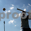 Rob Winner – rwinner@daily-chronicle.com<br /> <br /> Ryan O'Gara of the DeKalb County Liners works on his swing before a game on Friday July 9, 2010 in Sycamore, Ill.