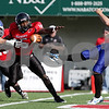 Rob Winner – rwinner@daily-chronicle.com<br /> <br /> Northern Illinois defensive back Jimmie Ward gets a piece of the ball during a punt by Buffalo kicker Jacob Schum during the second quarter of their game in DeKalb, Ill. on Saturday October 16, 2010.