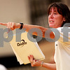 Beck Diefenbach – bdiefenbach@daily-chronicle.com<br /> <br /> Sycamore head coach Debbie Klock calls out to her players during the second game against Kaneland at Kaneland High School in Maple Park, Ill., on Tuesday Sept. 21, 2010.