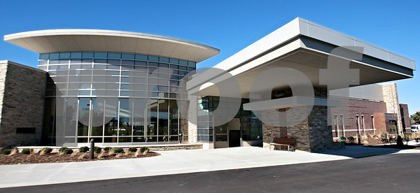 Kyle Bursaw - kbursaw@daily-chronicle.com<br /> <br /> The front entrance of the Kishwaukee Cancer Center.