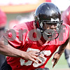 Beck Diefenbach - bdiefenbach@daily-chronicle.com<br /> <br /> Northern Illinois defensive end Daniel Green during the first practice at Huskie Stadium in DeKalb, Ill., on Thursday Aug. 5, 2010.
