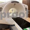Kyle Bursaw - kbursaw@daily-chronicle.com<br /> <br /> A PET/CT scanner is one of the large pieces of machinery in the Kishwaukee Cancer Center. This piece of imaging equipment helps in diagnosing and determining the stage of cancer in patients.