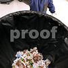 Kyle Bursaw – kbursaw@daily-chronicle.com<br /> <br /> Kindergartner Brody Pfund tosses his empty milk carton into the bin for recycling cartons at West Elementary school in Sycamore, Ill. on Nov. 18, 2010.