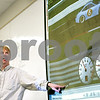 Beck Diefenbach  -  bdiefenbach@daily-chronicle.com<br /> <br /> Associate professor Brianno Coller explains to his students their assignment to creating a computer algorithm to control a virtual car during class in the Engineering Building on the campus of Northern Illinois University in DeKalb, Ill., on Wednesday March 31, 2010.