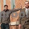 Beck Diefenbach  -  bdiefenbach@daily-chronicle.com<br /> <br /> President David Lumpkin (right) and vice president Jason Weilbaker (left) are heading up Feed'em Soup Community Project.