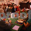 Kyle Bursaw – kbursaw@daily-chronicle.com<br /> <br /> Kevin Ballantine (center) eats dinner with family and friends on Tuesday, Dec. 28, 2010 for his Pooja's (front right) 18th birthday.