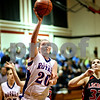 Beck Diefenbach – bdiefenbach@daily-chronicle.com<br /> <br /> Hinckley-Big Rock's Jenna Thorp shoots the ball during the second quarter of the IHSA Class 1A Regional Final game against Amboy at Indian Creek High School in Shabbona, Ill., on Thursday Feb 11, 2010.