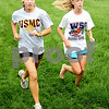 Rob Winner – rwinner@daily-chronicle.com<br /> <br /> Desarae Diedrich (left) and Kelsey Schrader run during cross country practice in DeKalb, Ill. on Wednesday August 18, 2010.