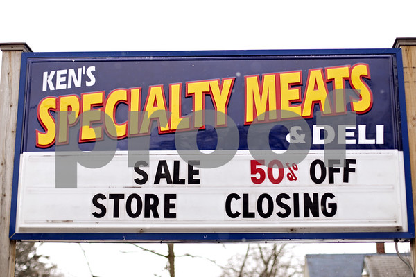 Beck Diefenbach  -  bdiefenbach@daily-chronicle.com<br /> <br /> Ken's Specialty Meats And Deli in Kingston, Ill., on Monday Jan. 25, 2010.