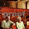 Beck Diefenbach  -  bdiefenbach@daily-chronicle.com<br /> <br /> The Egyptian Theater's director of operations Alex Nerad (left) and Restoration Committee Chair May Beth Van Buer are working to replace all the seats in the theater.