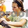 Rob Winner – rwinner@daily-chronicle.com<br /> <br /> DeKalb soccer player Allison Smith works out at Athletic Republic in DeKalb, Ill. on Wednesday July 21, 2010.