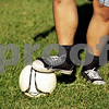 Beck Diefenbach – bdiefenbach@daily-chronicle.com<br /> <br /> Sans cleats, Hiawatha's Quan Nguyen practices with the schools first soccer team at Benke Park in Kirkland, Ill., on Friday Sept. 24, 2010.