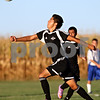 Rob Winner - rwinner@daily-chronicle.com<br /> <br /> Kaneland's Jordan Escobedo chases after a ball during the first half of the game on Wednesday September 8, 2010 in Hinckley, Ill.