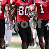 Rob Winner - rwinner@daily-chronicle.com<br /> <br /> Northern Illinois wide receiver Landon Cox (80) celebrates his touchdown reception during the second quarter in DeKalb, Ill. on Saturday October 9, 2010. The Huskies went on to defeat Temple, 31-17.
