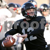 Kyle Bursaw – kbursaw@daily-chronicle.com<br /> <br /> Northern Illinois quarterback Chandler Harnish (12) throws a pass at practice on Friday, Dec. 10, 2010.