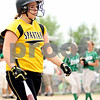 Rob Winner – rwinner@daily-chronicle.com<br /> <br /> Sycamore's Katie Jones leaves the field after striking out to end the IHSA Class 3A DeKalb Sectional championship game on Saturday June 5, 2010 in Dekalb, Ill. Sycamore lost to Geneseo, 4-1.