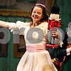 "Rob Winner – rwinner@daily-chronicle.com<br /> <br /> The Northern Illinois University School of Theatre and Dance students are putting on ""The Nutcracker"" at the Egyptian Theatre this week. At the Egyptian Theatre in DeKalb, Dominica Sorenson dances around stage after receiving a nutcracker from fellow NIU student Kyle Rorie during rehearsal on Monday night."