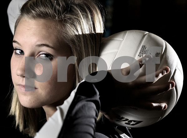 Kyle Bursaw - kbursaw@daily-chronicle.com<br /> <br /> DeKalb Barbs' Courtney Thomas is the Daily Chronicle's volleyball player of the year. 11/04/10