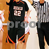 Beck Diefenbach - bdiefenbach@daily-chronicle.com<br /> <br /> DeKalb's Brian Sisler (22) reacts after another foul is called against the Barbs during the fourth quarter of the sectional championship game against Oswego at Hampshire High School in Hampshire, Ill., on Friday March 12, 2010. Oswego defeated DeKalb 57 to 51, ending the Barb's season.