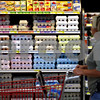Beck Diefenbach - bdiefenbach@daily-chronicle.com<br /> <br /> Am array of eggs are on display for a  potential customer at Browns County Market in Sycamore, Ill., on Tuesday Aug. 24, 2010. So far, there have been no recently reported outbreaks of Salmenella in Illinois due to contaminated eggs.