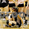 Rob Winner – rwinner@daily-chronicle.com<br /> <br /> Kaneland's Melanie Thompson gets back to her feet after trying to save a point in the second game against Kaneland in DeKalb, Ill. on Tuesday October 12, 2010. DeKalb went on to defeat Kaneland, 25-18 and 25-11.