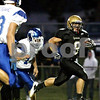 Rob Winner - rwinner@daily-chronicle.com<br /> <br /> Sycamore's Tommy Nice runs the ball in for a touchdown during the first quarter of their game against Burlington Central on Friday September 3, 2010 in Sycamore, Ill.