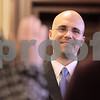 Kyle Bursaw – kbursaw@daily-chronicle.com<br /> <br /> New County Clerk John Acardo looks on as his deputies are sworn in at the DeKalb County Court in Sycamore, Ill. on Wednesday, Dec. 1, 2010.