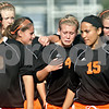 Beck Diefenbach  -  bdiefenbach@daily-chronicle.com<br /> <br /> DeKalb's Cara Sisler (4) and the rest of her team leave the field after losing to Sycamore in the IHSA Class 2A Rochelle Regional Championship at Rochelle Township High School in Rochelle, Ill., on Friday May 21, 2010. Sycamore defeated DeKalb 2 to 1.