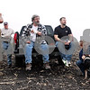 "Beck Diefenbach  -  bdiefenbach@daily-chronicle.com<br /> <br /> From left, Kevin Kullman, John Seraphine, Chauncey Watson, Tom ward and Courtney Modaff watch as the Watson home is destroyed by fire in rural DeKalb, Ill., on Friday April 30, 2010. ""[The Watsons] are the greatest people,"" family friend Kullman said. ""They'll give you the shirt off their back."""