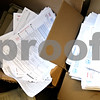 Beck Diefenbach  -  bdiefenbach@daily-chronicle.com<br /> <br /> Blank tax forms sit in boxes at the DeKalb Post Office in DeKalb, Ill., on Wednesday April 14, 2010.