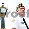 Rob Winner – rwinner@daily-chronicle.com<br /> <br /> American Legion Post 66 Commander Steve Marberry gives order to the honor guard before a ceremony at Memorial Park on Monday May 31, 2010 in DeKalb, Ill.