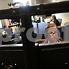 Beck Diefenbach  -  bdiefenbach@daily-chronicle.com<br /> <br /> Telecommunicator Jill Meyer fields a 911 call at the new communications room at the DeKalb Police Department in DeKalb, Ill., on Tuesday Aug. 31, 2010.