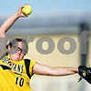 Beck Diefenbach  -  bdiefenbach@daily-chronicle.com<br /> <br /> Sycamore's pitcher Abby Foulk (10) winds up during the third inning of the IHSA Class 2A Regional semi final game against DeKalb at Sycamore High School in Sycamore, Ill., on May 27, 2010.