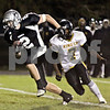 Wendy Kemp - For The Kane County Chronicle<br /> Kaneland's Blake Serpa runs for the touchdown during Friday's playoff game against King College Prep.<br /> Maple Park 10/29/10
