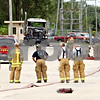 Rob Winner – rwinner@daily-chronicle.com<br /> <br /> Sycamore firefighters finish extinguishing a truck fire on the 400 block of California Street in Sycamore, Ill. on Friday September 3, 2010.