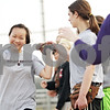 Beck Diefenbach  -  bdiefenbach@daily-chronicle.com<br /> <br /> Indian Creek freshman Khloe Gordon (left) celebrates with her team during practice at Indian Creek High School in Shabbona, Ill., on Friday March 19, 2010.