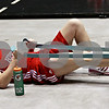 Beck Diefenbach – bdiefenbach@daily-chronicle.com<br /> <br /> Northern Illinois' Jenna Thorp stretches during her team's first practice of the season at NIU's Convocation Center in DeKalb, Ill., on Monday Oct. 4, 2010.