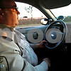 Beck Diefenbach – bdiefenbach@daily-chronicle.com<br /> <br /> Waterman Police Chief Chuck Breese patrols his city's streets in the department's new police car on Tuesday Oct. 5, 2010.