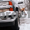 Beck Diefenbach  -  bdiefenbach@daily-chronicle.com<br /> <br /> Epy De La Toba shovels his driveway in Evergreen Village Mobile Home Park in Sycamore, Ill., on Tuesday Feb. 9, 2010.