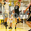 Rob Winner – rwinner@daily-chronicle.com<br /> Kaneland's Steve Colombe takes a shot in the first quarter.