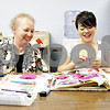 Rob Winner – rwinner@daily-chronicle.com<br /> <br /> Karen Orser, who has been a Big Sister for 12 years, works on a scrapbook with Desiree C., who turns 18 today, at the Family Service Agency in DeKalb, Ill. on Thursday May 20, 2010. The pair have been together for 12 years.<br /> <br /> *Check Carrie's story for Desiree's last name. They would not give it to me on the day I met with them. Also, Desiree turns 18 on Thursday May 27. So if it doesn't run that day, then please change the cutline. - Rob