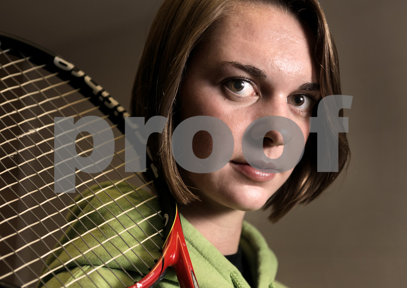 Kyle Bursaw - kbursaw@daily-chronicle.com<br /> <br /> Sycamore's Veronica Behrens is the Daily Chronicle's girls tennis player of the year. 11/03/10